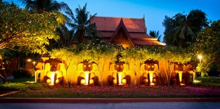 Anantara Resort and Spa Hua Hin; the secret garden