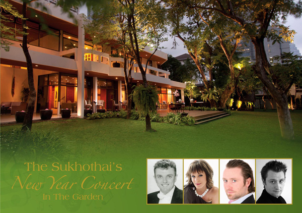 The Sukhothai\'s New Year Concert in The Garden