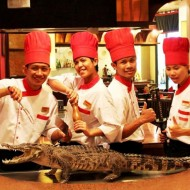 <b>Creative Crocodile at Benihana</b>
