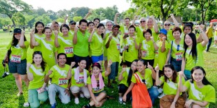 Anantara Bangkok Riverside Resort & Spa supported Cancer Care Charity Run