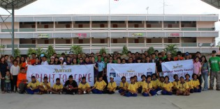 Marriott Hotels & Resorts Thailand Give School a Face Lift