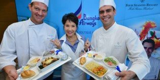 Exclusive Chef in the sky by Bangkok Airways 2012