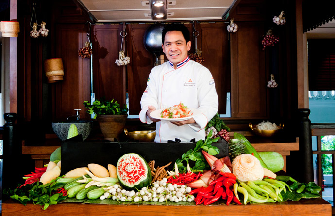 Anantara bangkok riverside launches an innovative for Ala cuisine iron chef
