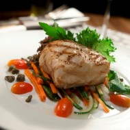<b> Superb premium grilled snow fish at Wine Pub</b>
