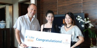 Grand Millennium Sukhumvit Presents Prize to Winner of Facebook Like & Win Campaign
