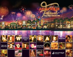 "ASIATIQUE THE RIVERFRONT to Celebrate the New Year in 2013 with the ""ASIATIQUE Festival"", Creating Magic and Timeless Happiness for All"