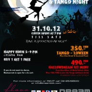 <b>HallowDREAM and Tango Night at Dream Hotel Bangkok...</b>