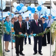 <b>Bangkok Airways' New Ticket Office Building is now...</b>