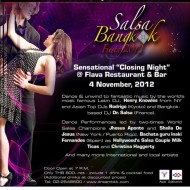 <b>The 8th Salsabangkok Fiesta 2012  at Dream Hotel B...</b>