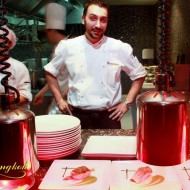 <b>Igor Macchia and Frescobaldi Wine dinner at La Tav...</b>