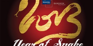 "Novotel Bangkok Platinum welcomes the ""Snake Year""  With a Chinese Brunch at only THB 888++"