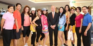 SHANGRI-LA HOTEL, BANGKOK WELCOMES CELEBRITY GUESTS TO THE HEALTH CLUB OPEN HOUSE