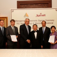 <b>MARRIOTT SIGNS LANDMARK DEAL WITH TCC HOTELS GROUP...</b>