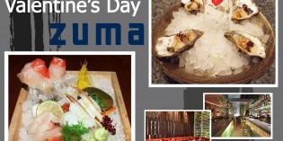 Intimate Valentine's Day Feast Includes Romantic Photo Souvenir at Chic zuma Bangkok