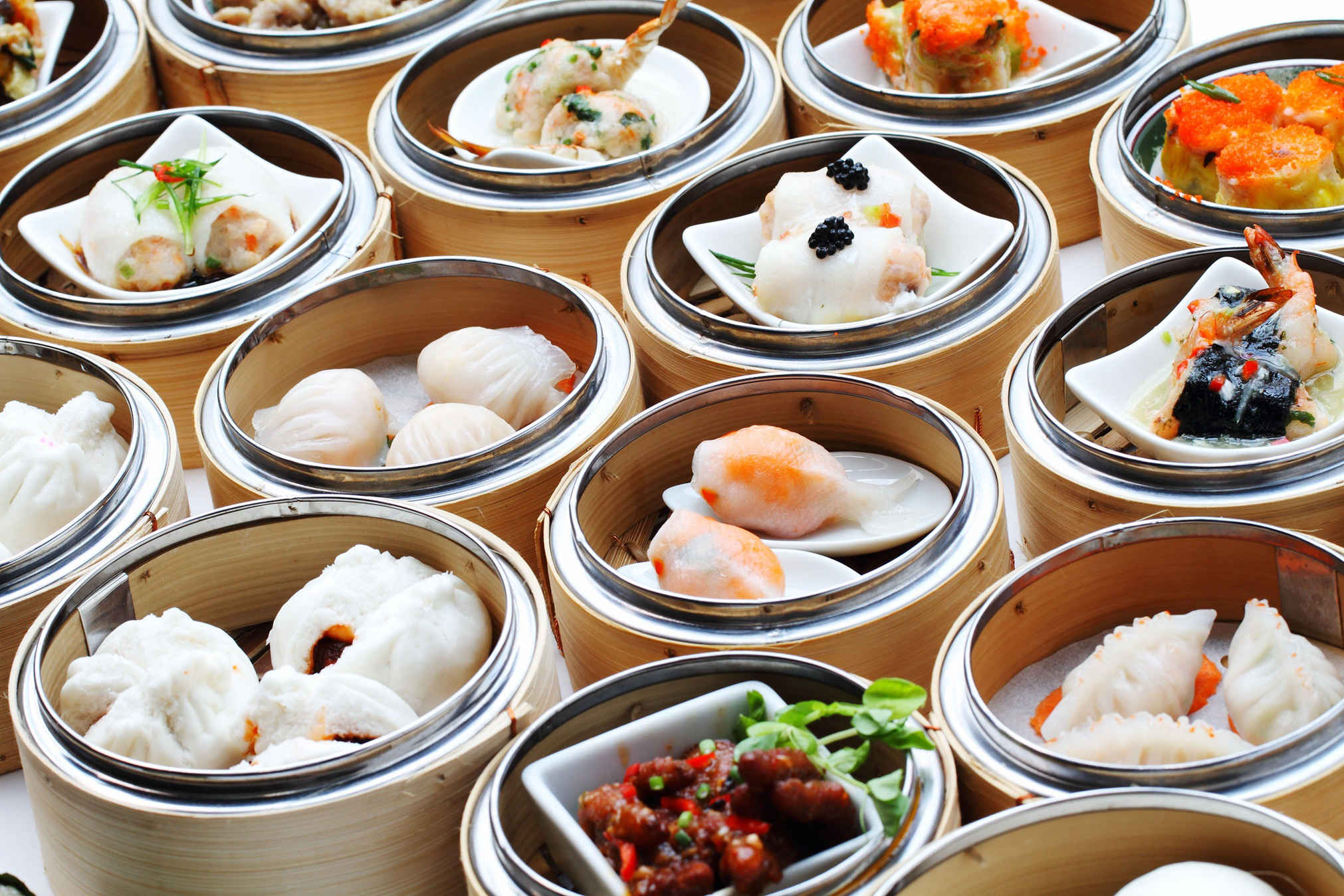 Chinese buffet dynasty centara grand central ladprao for Perfect kitchen dim sum