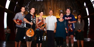 Irish Band Visits the Lost World