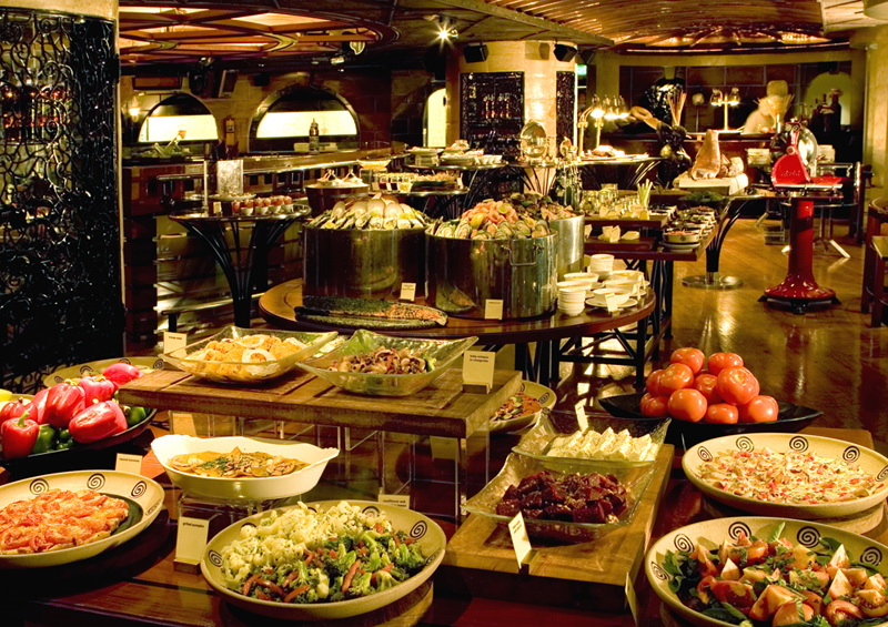 European Buffet The Tables Grand Hyatt Erawan Bangkok
