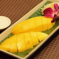 <b>Fresh Mango and Sticky Rice at Pullman Bangkok Kin...</b>