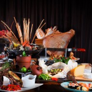 <b>International Buffet Up &amp; Above restaurant The...</b>