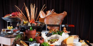 International Buffet Up & Above restaurant The Okura Prestige Bangkok