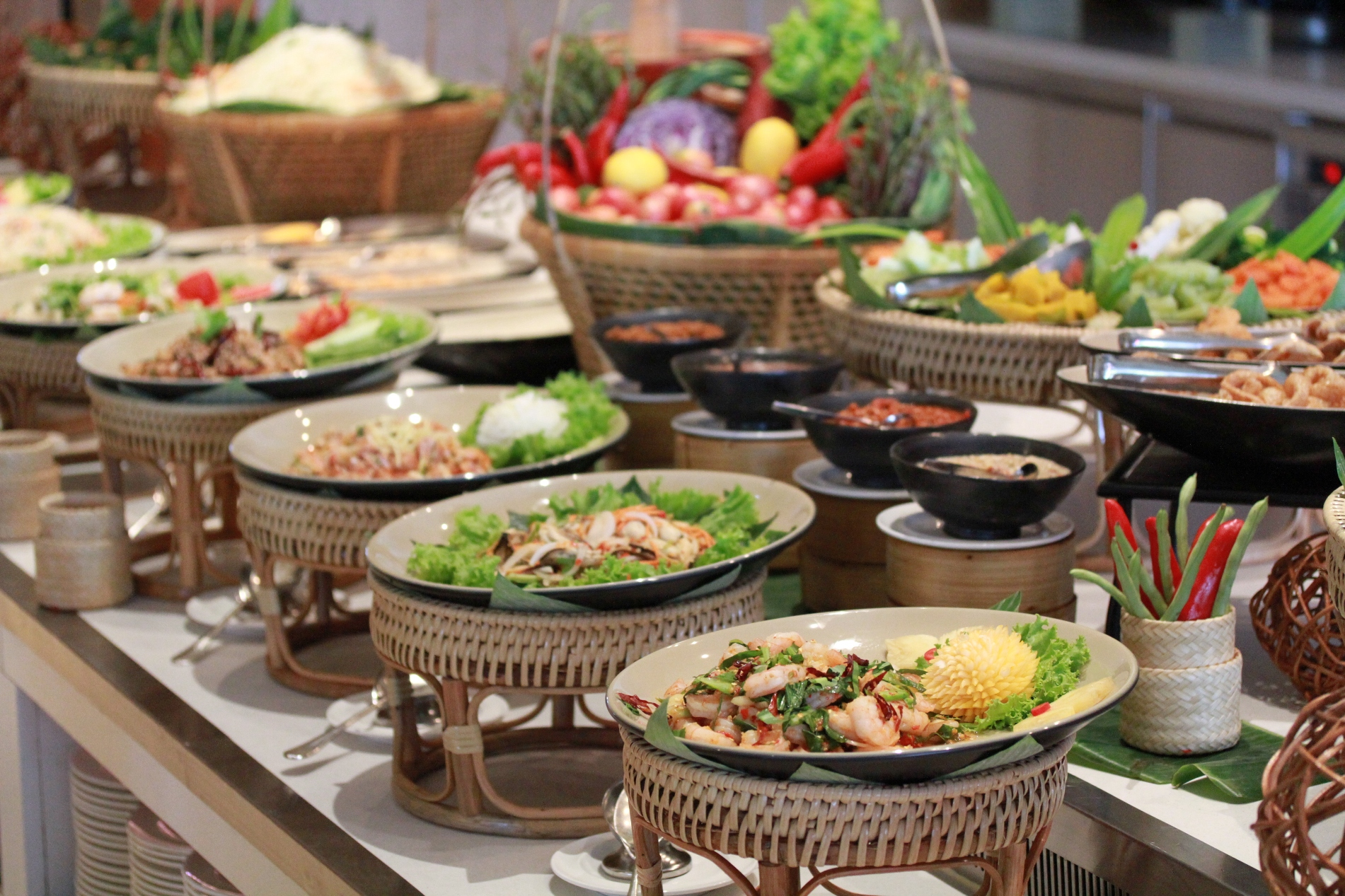 Thai Home Cooking Buffet Every Sunday The World And