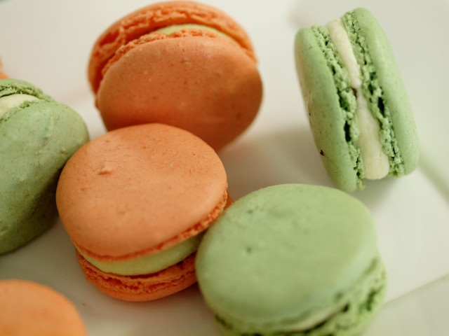 New flavors of macaron at Glen Bar