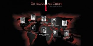 STAR CHEF LINE-UP UNVEILED FOR SO AMAZING CHEF 2013 AT SOFITEL SO BANGKOK