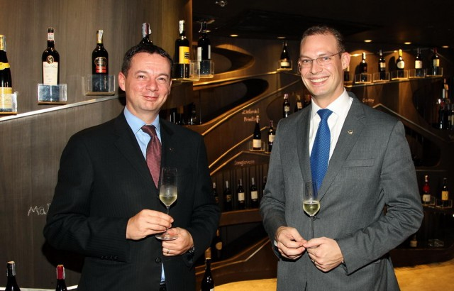 Markus Rainalter (F&B Director at Sofitel Sukhumvit), Robert Wittebrood (F&B Director at Sheraton Grande Sukhumvit) (2)