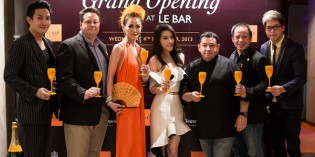 Le Bar the first Veuve Clicquot Champagne lounge in Thailand