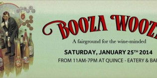 Booza Wooza, a fairground for the wine-minded