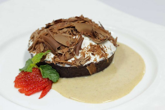 13-Chocolate-Tart-with-Cream-Chantilly-serves-on-Hazelnut-Sauce