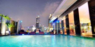 Pool party at Galleria 10 Hotel Bangkok