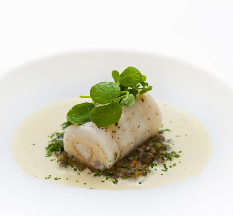 Agung Ardiawan_Bali_Slow poached Marble Goby fillet - red slipper lobster_resize