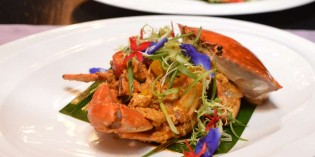 Hilton Pattaya Presents Fresh Black Crab at Flare Restaurant
