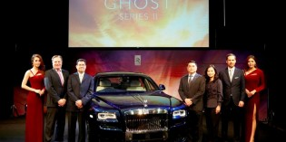 ROLLS-ROYCE GHOST SERIES II LAUNCHES IN THAILAND