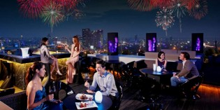 Sky-High Celebrations on New Year's Eve at Blue Sky Bar and Restaurant, Centara Grand at Central Plaza Ladprao Bangkok