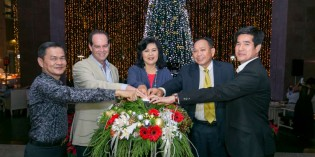 Tree Lighting Ceremony at Hilton Hua Hin Resort & Spa