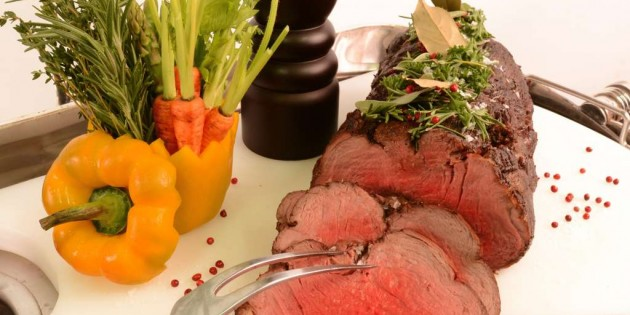 Prime Rib Saturdays At Hamilton's Steak House