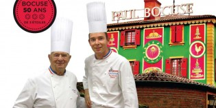 Michelin Star Chef Paul Bocuse's 50th Anniversary at Wine Pub