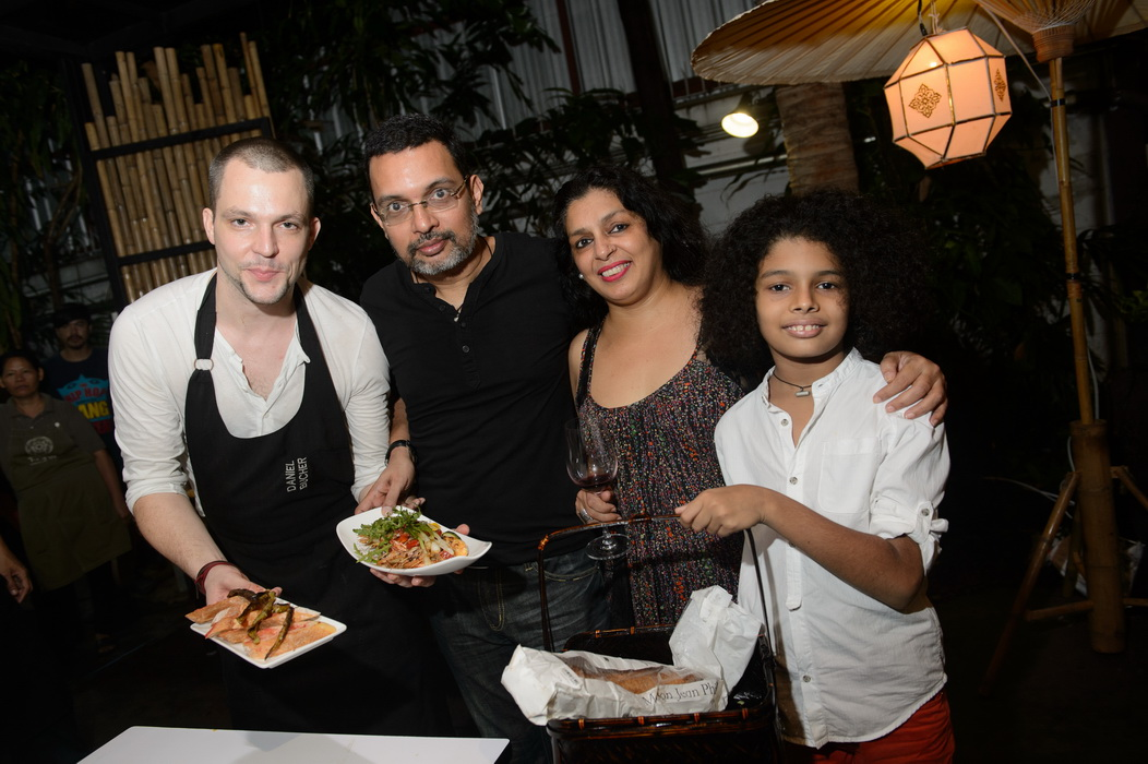 Chef Daniel Bucher and Khun Gavin Nazaret's Family_resize
