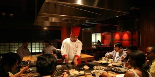 Benihana – the world famous Japanese Teppanyaki Steakhouse at AVANI Atrium Bangkok