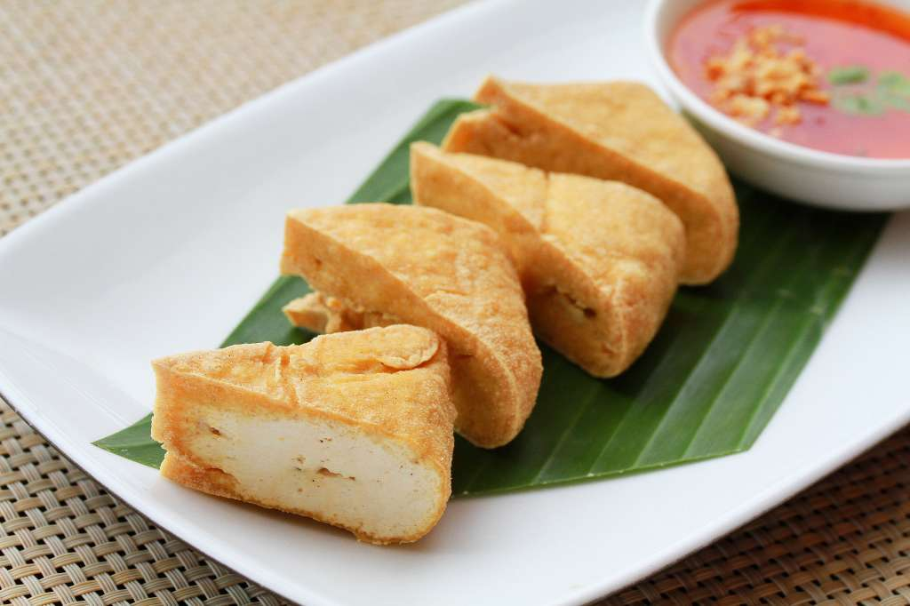 Deep-fried-tofu