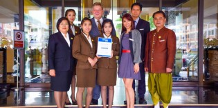 "THE RAMADA PLAZA BANGKOK MENAM RIVERSIDE RECEIVES HOLIDAYCHECK ""QUALITY SELECTION 2015"" CERTIFICATE"