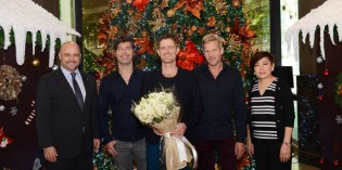 INTERCONTINENTAL BANGKOK WELCOMES MICHAEL LEARNS TO ROCK