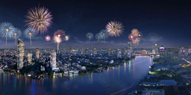 Experience an unforgettable Magic New Year Celebration at Ramada Plaza Bangkok Menam Riverside