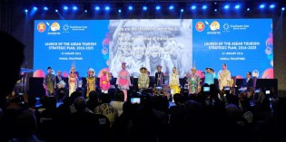 ASEAN Tourism Ministers launch ATSP 2016-2025 at ATF