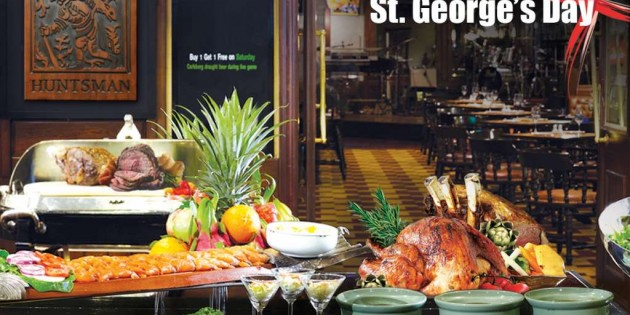 Come 4 pay 2! St. George's Roast Buffet at The Landmark Bangkok: