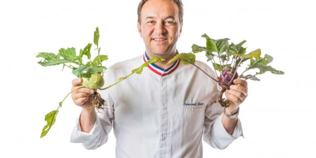 3-Michelin Star Chef Emmanuel Renaut from Flocons de Sel Gastronomic Restaurant, Megève – France