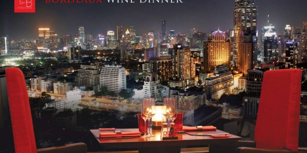 Bordeaux Wine Dinner at The Landmark Bangkok