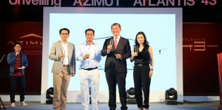"AZIMUT YACHTS STAGES ""ATLANTIS 43"" LAUNCH"